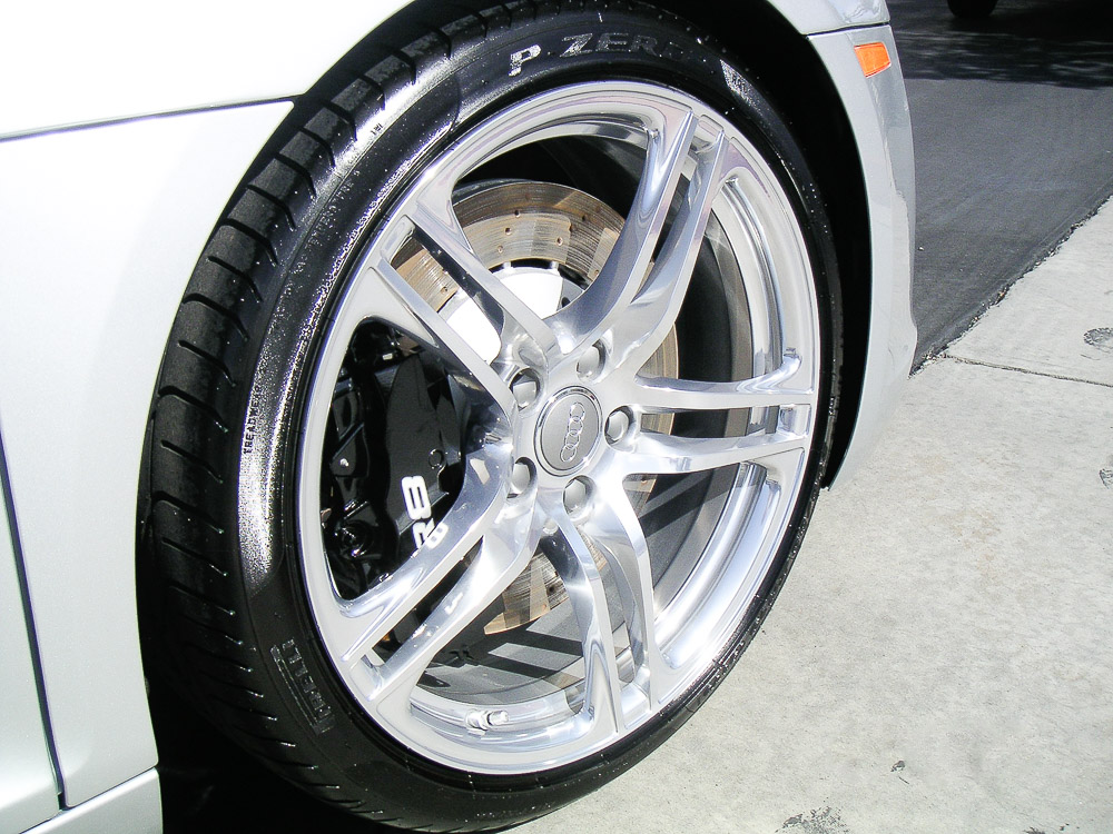 West Coast Auto Detail and Accessories r8 wheel